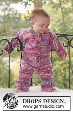 To the Fair! / DROPS Baby 16-4 - DROPS puku kaksinkertaisesta Fabel-langasta.