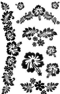 Ideas for tattoo (hibiscus) tattoos ideas tattoos sleeve tattoos turtle tattoos chest Hawaiian Flower Tattoos, Hawaiian Flowers, Arm Tattoo, Sleeve Tattoos, 3d Quilling, Hawaiian Quilts, Stencil Patterns, Flower Tattoo Designs, Flower Designs