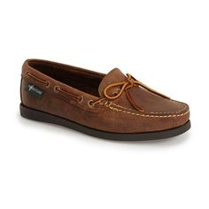 Eastland 'Yarmouth 1955' Boat Shoe (€100) ❤ liked on Polyvore featuring ·  Boat Shoes WomenLeather ...