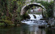 ΛΙΒΑΔΕΙΑ Waterfall, Travel, Outdoor, Outdoors, Viajes, Waterfalls, Destinations, Traveling, Outdoor Games