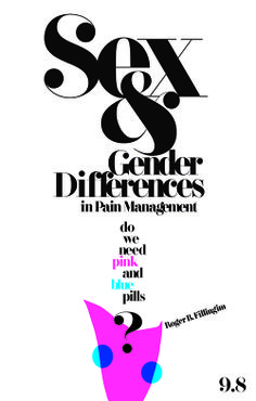 Sex & Gender Differences in Pain Management