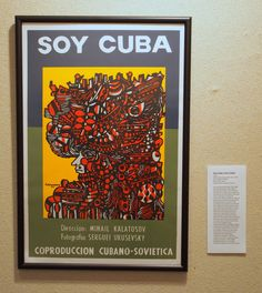 Soy Cuba (Cuban poster) Western Film, Film Posters, Eastern Europe, Cuban, Iron, Graphic Design, Gallery, Roof Rack, Film Poster