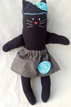 Sock Kitty | sock kitty | sewing and quilts to make | Pinterest