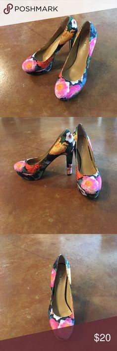 I just added this listing on Poshmark: Nine West Floral Print Platform Heel. #shopmycloset #poshmark #fashion #shopping #style #forsale #Nine West #Shoes