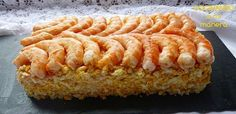 pastel de langostinos Seafood Dishes, Seafood Recipes, Cooking Time, Cooking Recipes, Appetizer Sandwiches, Yummy Food, Tasty, Yummy Yummy, Best Dishes