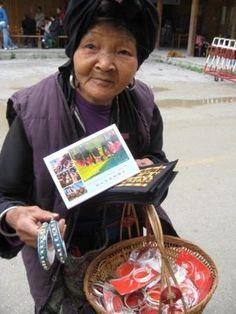 Woman in Longji Terrace.