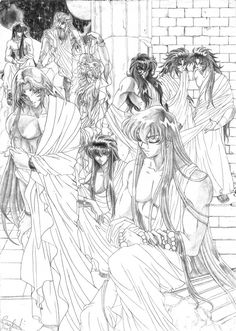 Harem Saint Seiya by MistressAinley on DeviantArt