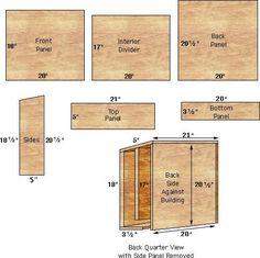 Bat house plan inspirational marvelous bat house plans 5 bat house plans gardening is free hd wallpaper. this wallpaper was upload at february Woodworking Jig Plans, Woodworking Basics, Woodworking Classes, Woodworking Shop, Woodworking Workshop, Woodworking Supplies, Build A Bat House, Bat House Plans, Panel Divider