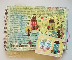 · Collage de memòries ·: Art Journal Every Day