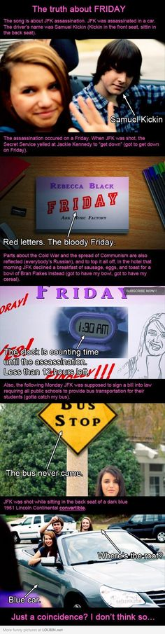 The Truth About Rebecca Black's Friday Song