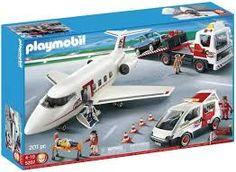 playmobil police plane - Google Search