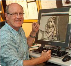 Meet Glen Keane (= legendary animator) - CHECK!!! 23-09-2014 :D