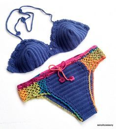 Bikini Set Crochet Bikini Top Bikini Bottom 2015 Swimwear Summer Fashion Brazilian Swimsuit Gypsy Boho Hippie Bikini Festival senoaccessory