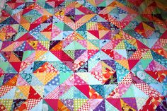 """Warm & Cool Quilt from """"Sew Lovins"""""""