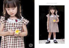 Adorable Danica wearing heybaby Cecilia Choho Dress