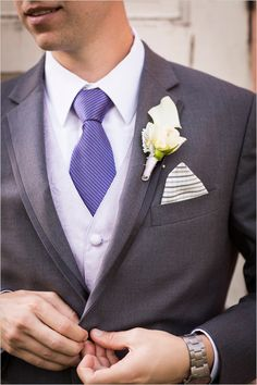 #greyandpurple #groom @weddingchicks