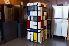 mondrian fridgewrap vinyl wrap fridge