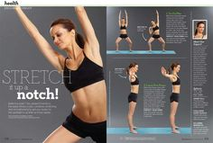 Essentrics Stretching Workout Pt. 1 from Chatelaine Mag, Oct '12