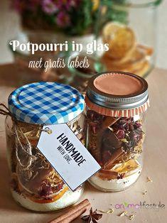 potpourri in glas Potpourri, Acai Bowl, Diy, Handmade, Food, Wellness, Health, Glass, Gift