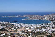 Paroikia, the main town of Paros island