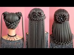 Top 30 Amazing Hair Transformations – Beautiful Hairstyle Compilation 2018 - hair 'n clothes , Twist Hairstyles, Cool Hairstyles, Beautiful Hairstyles, Popular Hairstyles, Hairstyle Ideas, French Twist Hair, Pinterest Hair, Crazy Hair, Hair Art