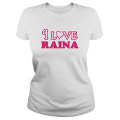 I love raina infant bodysuit i love raina body suit - Tshirt #gift #ideas #Popular #Everything #Videos #Shop #Animals #pets #Architecture #Art #Cars #motorcycles #Celebrities #DIY #crafts #Design #Education #Entertainment #Food #drink #Gardening #Geek #Hair #beauty #Health #fitness #History #Holidays #events #Home decor #Humor #Illustrations #posters #Kids #parenting #Men #Outdoors #Photography #Products #Quotes #Science #nature #Sports #Tattoos #Technology #Travel #Weddings #Women