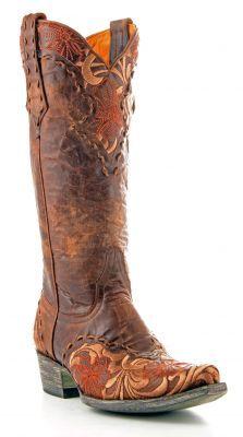 Womens Old Gringo Erin Boots Brass #L640-2 via @allen sutton Boots