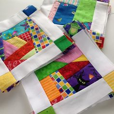 Scrap blocks are ready for the quilt top! I'm cutting this one close - the quilt is due Monday for Bonnie K. Scrappy Quilt Patterns, Scrappy Quilts, Quilting Ideas, Cute Quilts, Baby Quilts, Crazy Quilt Blocks, Crazy Quilting, Crazy Patchwork, Crazy Quilt Tutorials