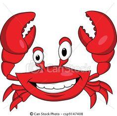Red crab cartoon vector image on VectorStock Crab Illustration, Free Vector Illustration, Free Illustrations, Vector Art, Eps Vector, Crab Cartoon, Cartoon Pics, Shrimp Cartoon, Crab Clipart