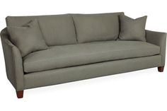 Lee Industries 3112-03 Sofa, Overall: W95  D40  H38   Inside: W84  D24  H18   Seat Height: 18 Arm Height: 24 Back Rail Height: 32