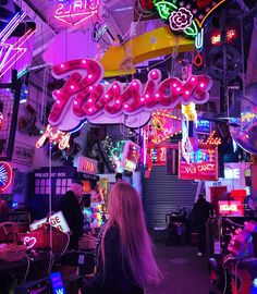 Gods Own Junkyard, Walthamstow London. The most amazing neon heaven you will ever see! Photo by Louise Moe-Dean