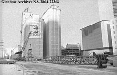 January 15, 1973. City-owned elevator, located at the corner of 4th Street SW and 9th Avenue SW, is set for demolition, which will be undertaken by Johnston Terminals Company.