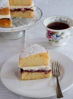 Victoria Sponge Cake (recipe)