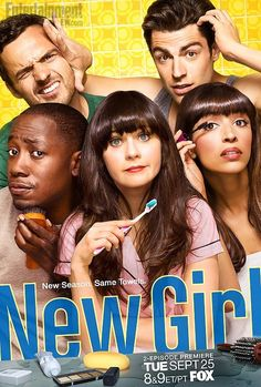 New Girl season 2. Best TV show. I laugh uncontrollably, seriously SOOO FUNNY!!!