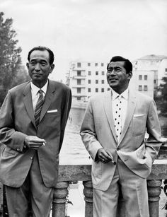Akira Kurosawa and Toshiro Mifune