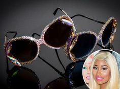 We found them! Where to get Nicki Minaj's blinged out sunnies! - http://www.eonline.com/news/366357/nicki-minaj-s-custom-bedazzler-get-james-price-s-sparkly-new-sunnies#