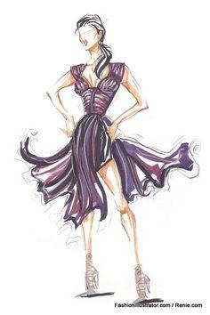 Fashion Illustration Gallery By Renie
