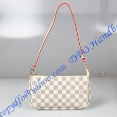 Louis Vuitton Damier Azur Pochette Accessoires NM sale at - Free Worldwide shipping. Get today Louis Vuitton Damier Azur Pochette Accessoires NM Lv Handbags, Luxury Handbags, Louis Vuitton Handbags, Louis Vuitton Damier, Designer Handbags, Cowhide Leather, Red And Pink, Fendi, Luxury Lifestyle