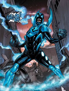 QOTD - You wanna see Blue Beetle in the Booster Gold movie? Also check out my other IG ----------------------------------------- by facts_of_hero. Comic Book Characters, Comic Character, Comic Books Art, Comic Art, Book Art, Teen Titans, Dc Animated Series, Gold Movie, Nightwing And Starfire