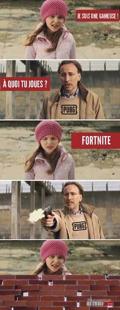 Pubg ou Fortnite ? - Be-troll - vidéos humour, actualité insolite
