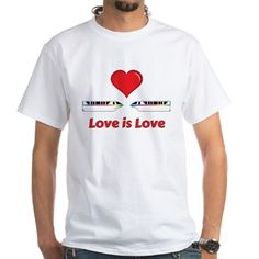 Love is Love Monorails T-Shirt