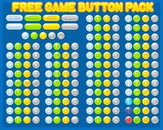 free casual puzzle girl game button gui