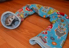 Cute and easy ferret tube - can't imagine a ferret not liking it. :)