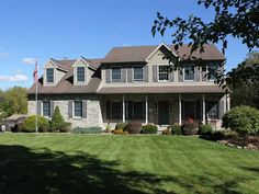 Beautiful 4-5 Bedroom 3.5 Bath Colonial with walk-out lower level on an acre next to mature woods in South Whitehall. The first floor features a formal living room and dining room large country kitchen with center island and breakfast area a sunken family room with vaulted ceiling and raised brick hearth fireplace plus a 1st floor office The second floor includes 4 spacious bedrooms (including a dbl door master suite with private office area walk-in closet and superb full bath wvaulted…