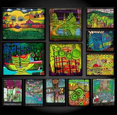 hundertwasser_shop_fridge_magnet_set1