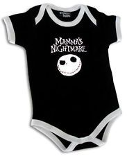 MAMMA'S NIGHTMARE PUNK METAL BLACK BABY SUIT SHIRT ONESIE 0-18 before Christmas