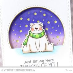 Welcome to Day 4 of the MFT November Release Countdown! Today I'm introducing you my new stamp set & matching dies, Polar Bear Pals and Ic...