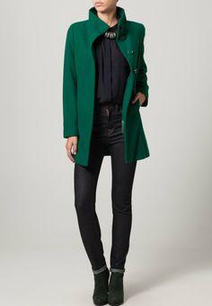 Benetton - Classic coat - green