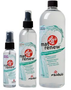EMP Industrial - Manduka Mat Renew® - ALL PURPOSE MAT CLEANSER FOR HIGH PERFORMANCE YOGA MATS