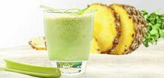 Poderosa bebida natural para limpar o intestino, diminuir o colesterol e perder peso! Celery Smoothie, Celery Juice, Juice Smoothie, Smoothie Detox, Fruit Juice, Weight Loss Smoothies, Healthy Smoothies, Healthy Drinks, Healthy Recipes